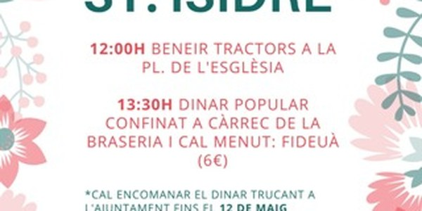 FESTA SANT ISIDRE
