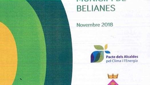 Pla d'acció per a l'energia sostenible i el clima del municipi de Belianes