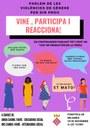 Xerrada - col·loqui  parlem de les violències envers les dones 2019